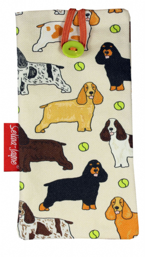 Selina-Jayne Cocker Spaniel Limited Edition Designer Soft Glasses Case